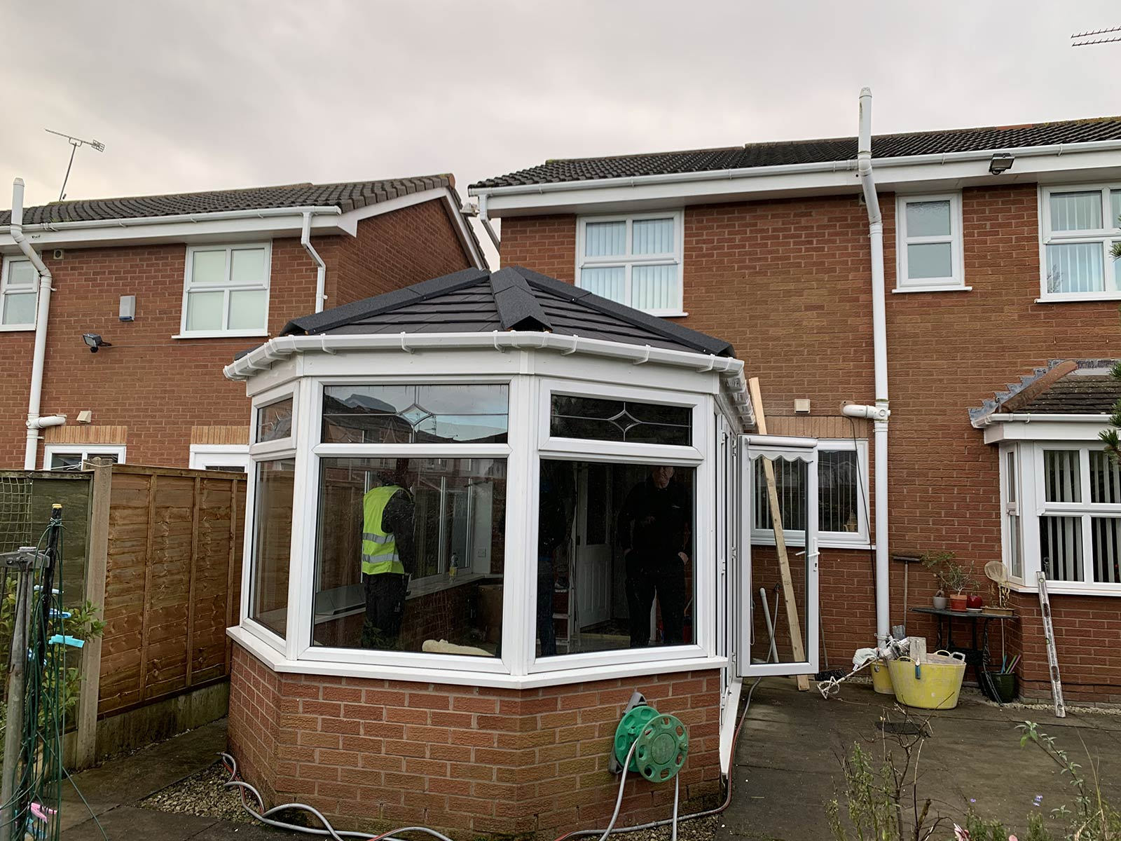 Tiled Conservatory Roof Wallasey Wirral Tl Contractors