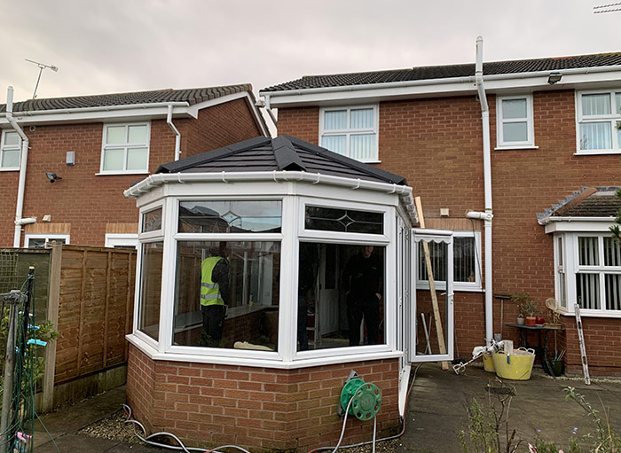 Tiled Conservatory Roof – Wallasey, Wirral
