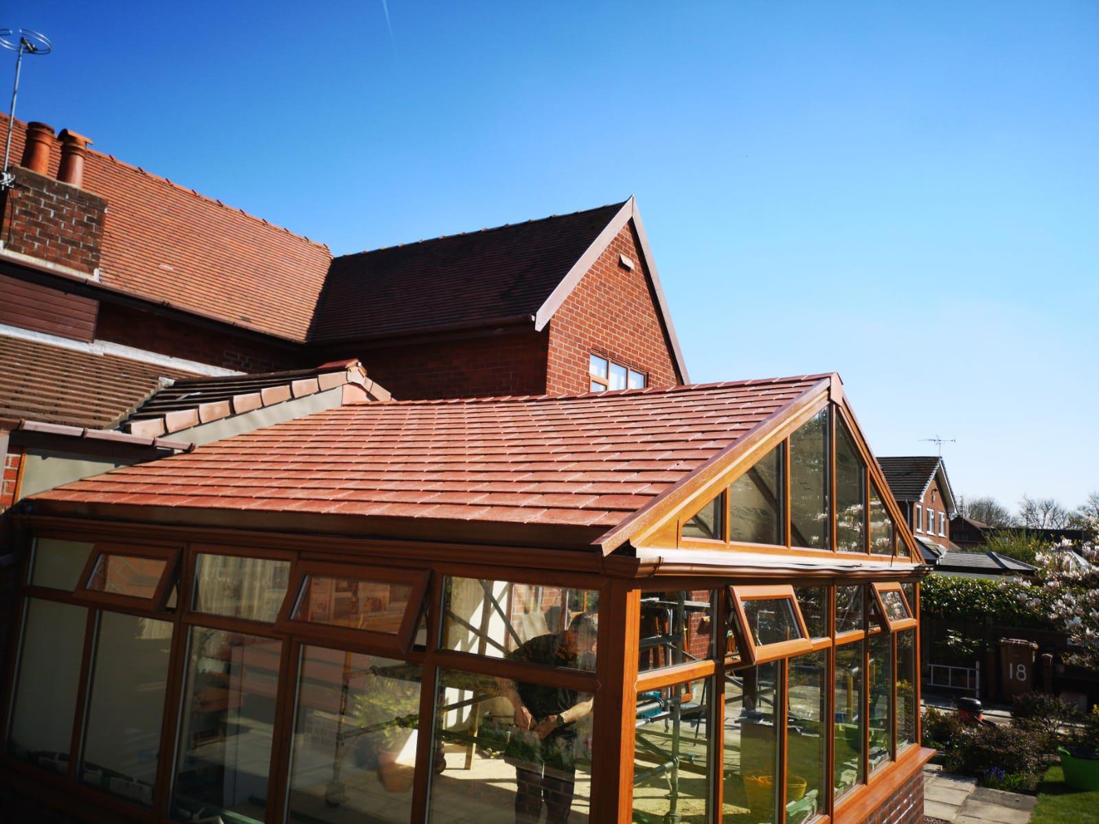 Conservatory Roof Installation Lymm Tl Contractors