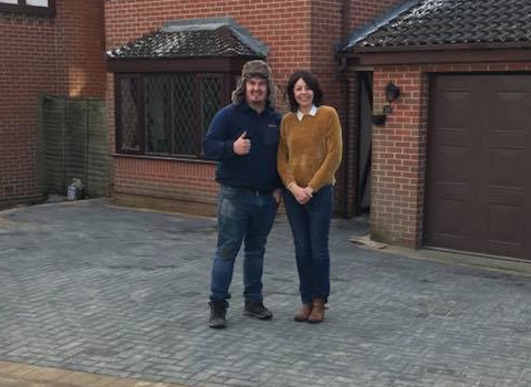 Block Paved Driveway – West Kirby, Wirral