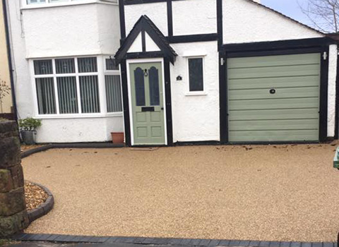 Resin Bound Driveway – Heswall