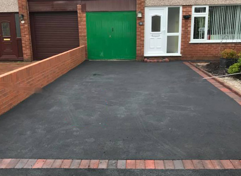 2 Tarmac Driveways – Flint, North Wales