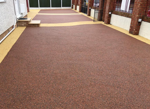 Resin Driveway – Towyn, North Wales