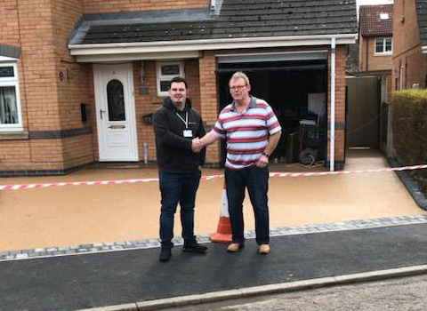 Resin Bound Driveway – Chester