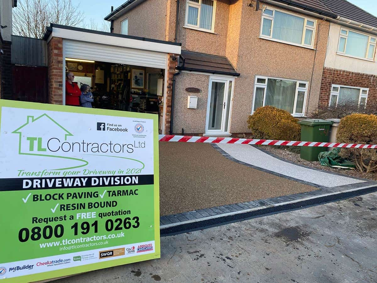 Resin Bound Driveway – Greasby